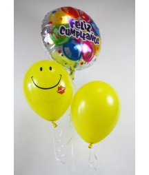 Bouquet Globos Feliz Cumple