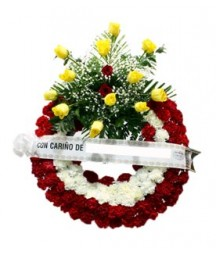 Corona Funeraria Con Entrega Urgente Tanatorio Cementerio España