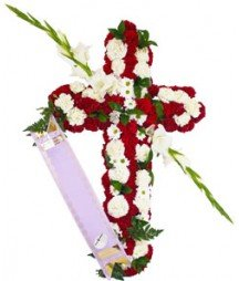 Funeral Cross Small