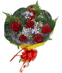 Roses bouquet christmas