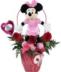 Disney Con Rosas Minnie