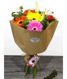 Lilies and Gerberas