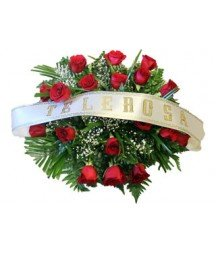 Roses funeral Cushion