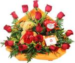6 6 Teddy & Flowers from Telerosa