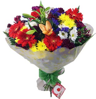 4 Happiness bouquet from Telerosa