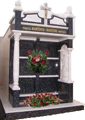 Funeral Pantheon with flowers Telerosa